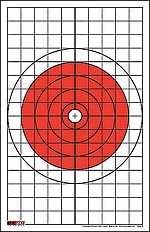 5 - Style 5: Bullseye with Grids Sight-in