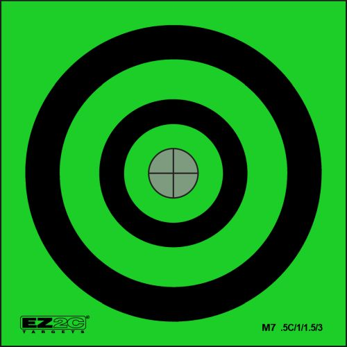 Mini Targets Green Style 7