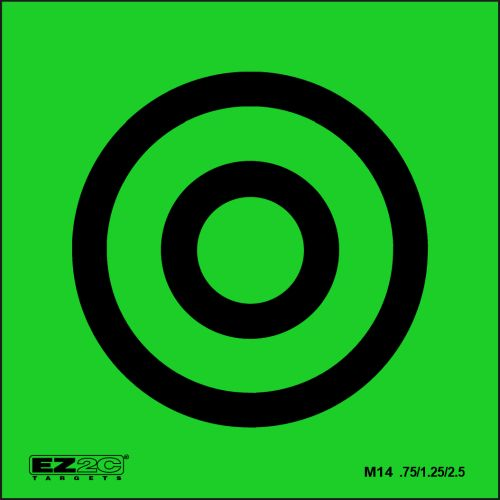 Mini Targets Green Style 14
