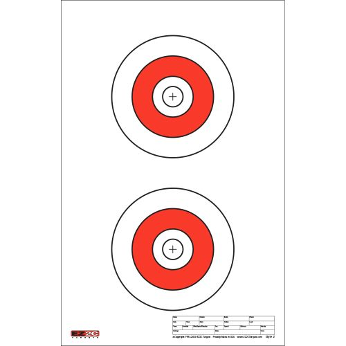"Style 2: Two 6"" Bullseyes"