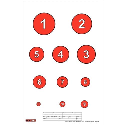 Style 20: Reducing Circles
