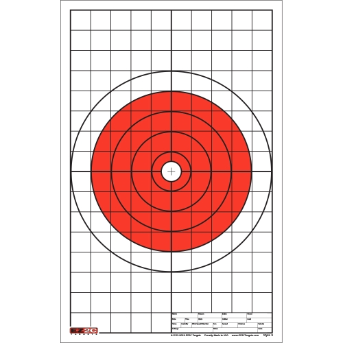 Style 5: Bullseye with Grid Sight-in