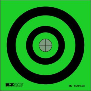Mini Targets Green Style 7