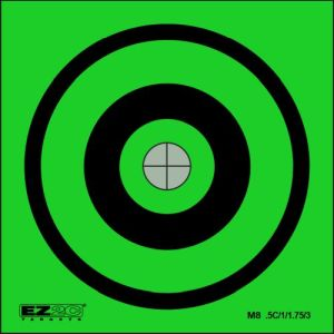 Mini Targets Green Style 8