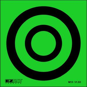Mini Targets Green Style 13