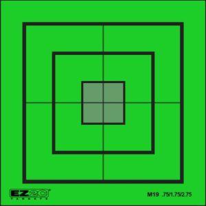 Mini Targets Green Style 19