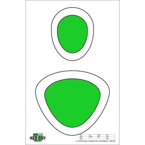 Red Dot Optics Style 4: Head and Center Mass